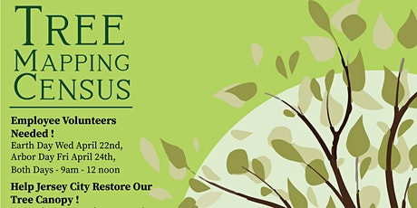 Tree Mapping Census - Earth Day & Arbor Day 2020 tickets
