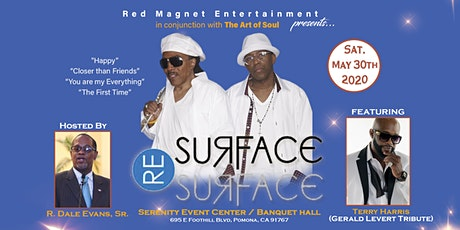 R&B Old School group SURFACE & A Gerald Levert Tribute tickets