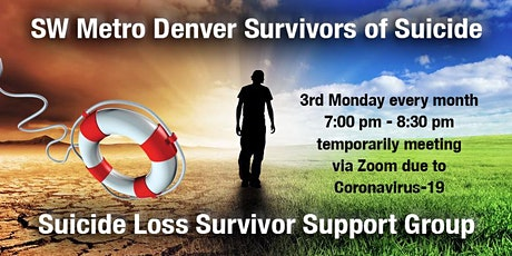 SW Metro Denver Survivors of Suicide Loss Bereavement Support Group Meeting tickets