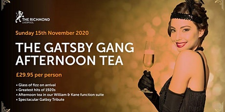 Gatsby and the Gang Afternoon Tea tickets