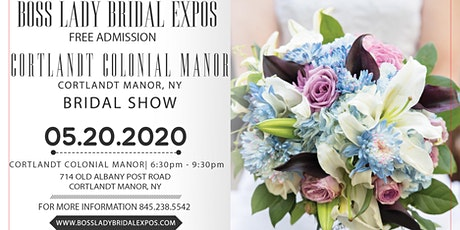 The Cortlandt Colonial Manor Bridal Show 5 20 20 tickets