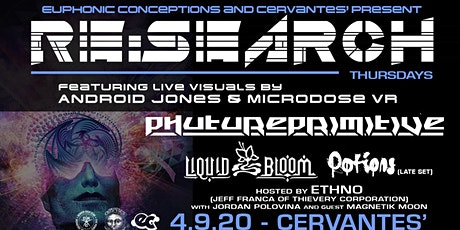 RESCHEDULED - RE:Search ft Phutureprimitive w/ Liquid Bloom, Potions tickets