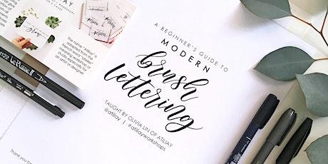 Beginners Brush Lettering Workshop - Los Angeles tickets
