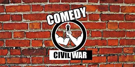 Comedy Civil War: USA Vs. International tickets