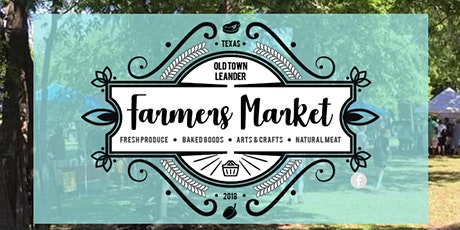 Old Town Leander Farmer's Market tickets