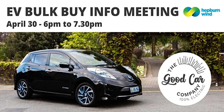 EV Bulk-Buy Info Meeting! tickets