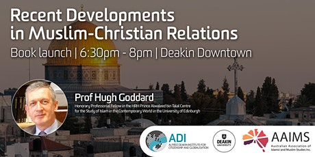 Book launch: Recent Developments  in Muslim-Christian Relations tickets