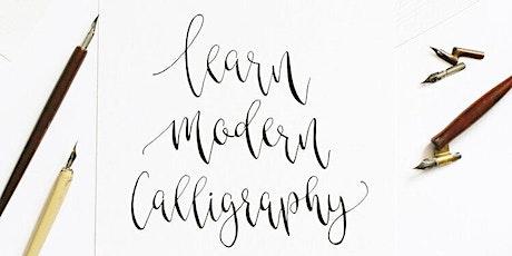 Modern Calligraphy Workshop tickets