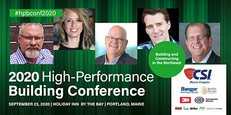 2020 High-Performance Building Conference tickets