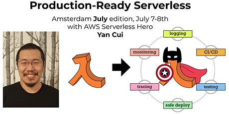 Production-Ready Serverless Amsterdam July  (2 days, incl. VAT) tickets