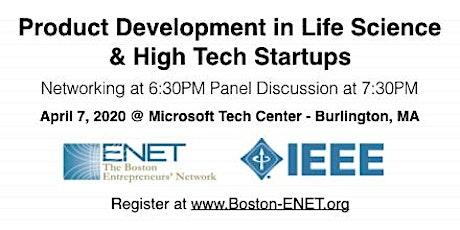 WEBINAR: Product Development in Life Science & High Tech Startups #enet2915 tickets