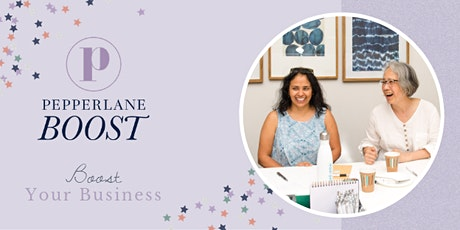 Pepperlane Boost: ONLINE Meeting (Led by Christine McShane) tickets