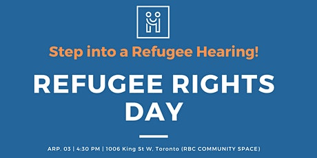 Refugee Rights Day 2020 tickets