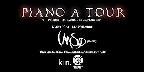 I Am Sid (Italie) / Tournée Piano A Tour / Montréal billets