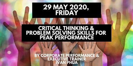 1-Day Critical Thinking and Problem Solving Skills for Peak Performance tickets