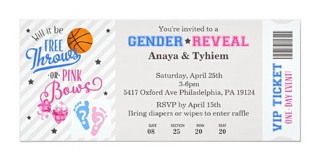 Free Throws or Pink Bows Gender Reveal for Anaya and Tyhiem  tickets