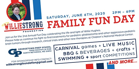 WILLIESTRONG Family Fun Day tickets