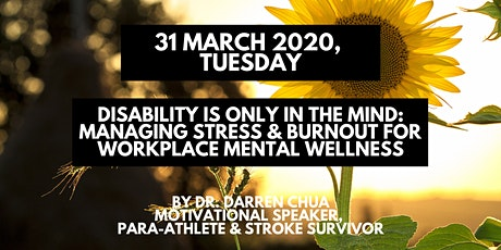 1-Day Managing Stress and Burnout for Workplace Mental Wellness tickets