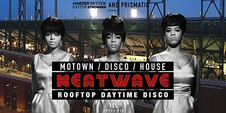 Heatwave Rooftop Party: 60s Motown / 70s Disco / Classic House tickets