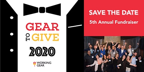 Gear to Give 2020 - Working Gear's Annual Fundraiser tickets