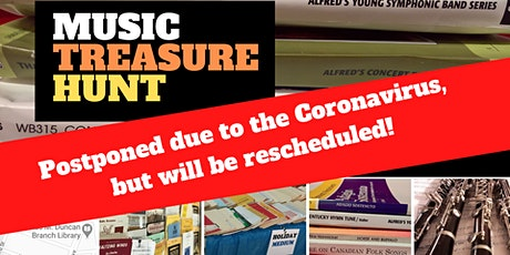 MUSIC TREASURE HUNT -- FREE MUSIC FOR BAND DIRECTORS tickets