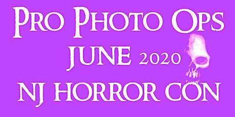 PRO PHOTO OPS NJ HORROR CON JUNE 2020 tickets