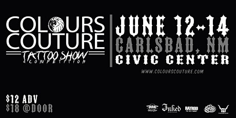 Colours Couture - Carlsbad Tattoo Show 2020 tickets