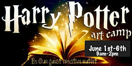 Harry Potter/Fantasy Summer Art Camp! June 1-5th tickets