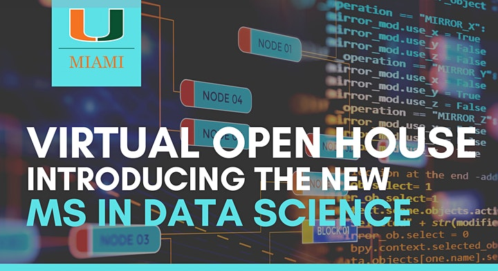 MS in Data Science Virtual Open House image