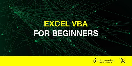 Excel VBA for Beginners (28 April) tickets