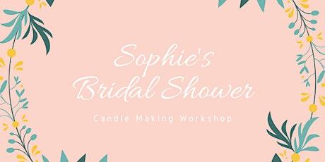 Sophie's Bridal Shower Candle Workshop tickets