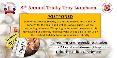 POSTPONED: ANNUAL TRICKY TRAY FUNDRAISER tickets