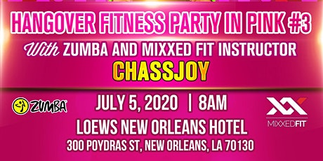 EMPIRE DYNASTY TRAVEL PRESENTS, 3RD HANGOVER FITNESS PARTY IN PINK W CHASSJOY tickets