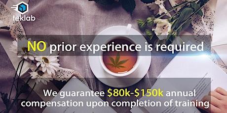 Get into $100k Salary IT Career with TekLab School tickets
