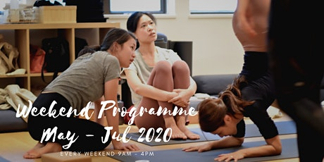 May 2020 - Jul 2020 200-HOUR YOGA ALLIANCE ACCREDITED TEACHER TRAINING PROGRAMME tickets