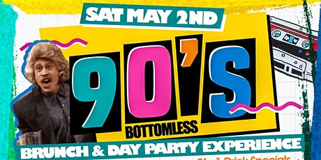 Sat. 05/02: The 90's Bottomless Brunch & Day Party at TaJ NYC. No Cover. tickets