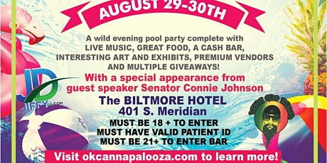 OK Canna Palooza Fall Out-door / In-door Pool Party tickets