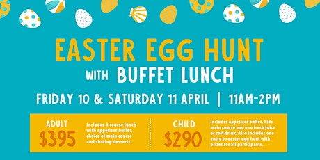 Easter Egg Hunt and Buffet Lunch tickets