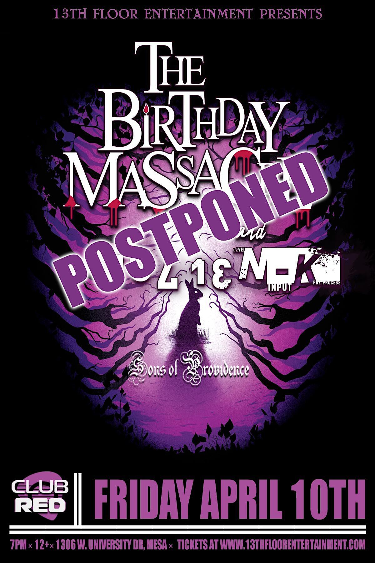 Birthday Massacre – Tickets