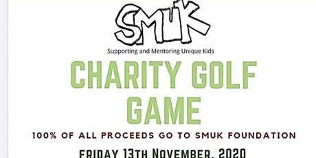 SMUK Charity Golf Day 2020 tickets