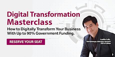 [Online Webinar] Digital Transformation Masterclass tickets