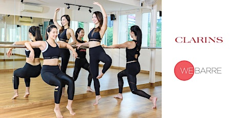 Clarins x WeBarre Special Event tickets