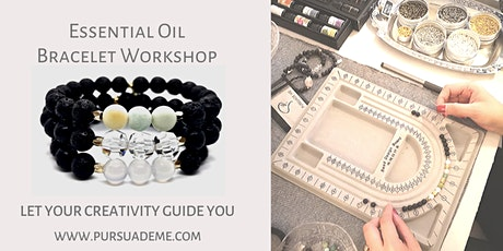 Essential Oils Lava Rock Stretch Bracelet Jewelry Workshop tickets