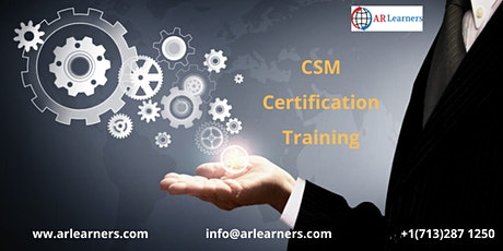 CSM Certification Training Course In Arlington, VA,USA tickets
