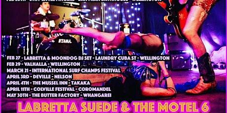 Labretta Suede & The Motel 6 tickets