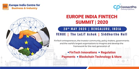 Europe India Fintech Summit 2020 tickets