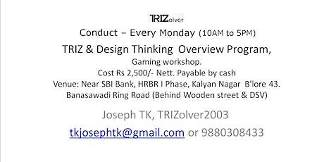TRIZ & Design Thinking Workshop tickets