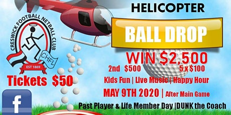 CreswickFNC Helicopter Ball Drop 2020 tickets