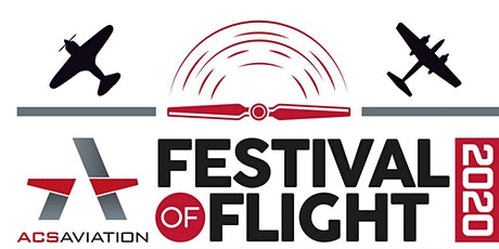 ACS Aviation - Festival of Flight 2020 tickets
