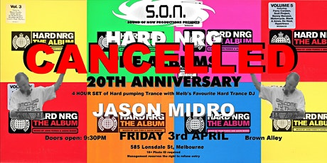 HARD NRG - THE ALBUMS - 20TH ANNIVERSARY tickets